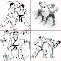 martial arts technique icon