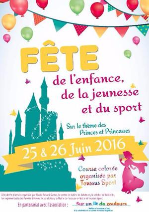 Affiche fête toussus 2015
