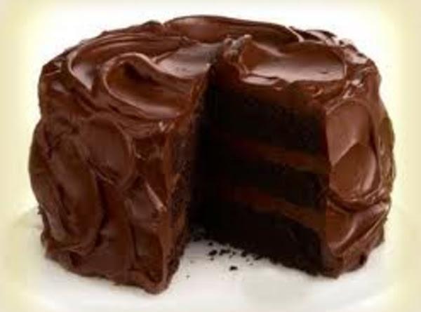Aunt's Chocolate Coconut Cake Recipe