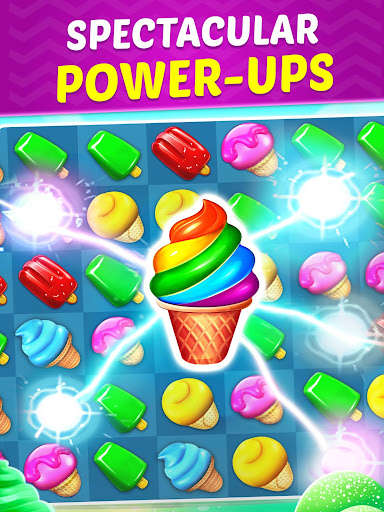 Ice Cream Paradise - Match 3 Puzzle Adventure 2.6.1 screenshots 11