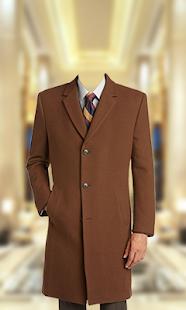 Stylish Man Coat Photo Suit - náhled