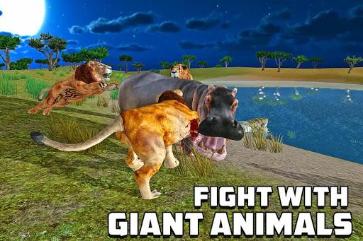 furious lion family sim screenshot 2
