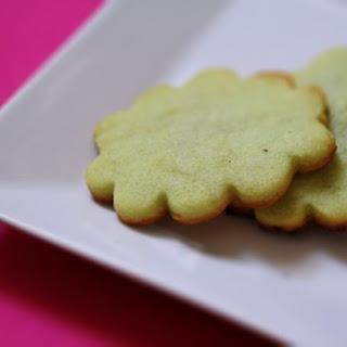 Matcha Cookies.