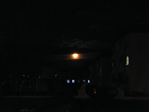 Photo: the full moon reported in 30 years biggest for its recording closest to the earth in half decade. the scene near QRRS retired leaders' villas, in front of benzrad 朱子卓's QRRS office.