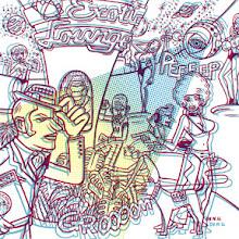 Photo: cd cover illustration for Edison Chen of Hong Kong.