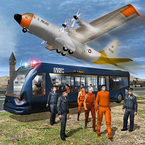 模擬App|飛行機の囚人輸送 LOGO-3C達人阿輝的APP