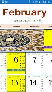 2018 KK Calendar - náhled