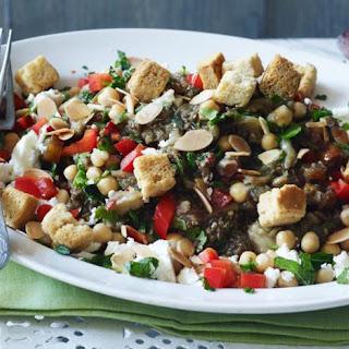 Grilled Aubergine Salad.