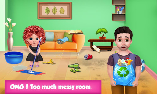 Code Triche Help Daddy Messy Home  - Kids Fun Adventure  APK MOD (Astuce) screenshots 2