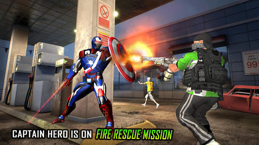 Flying Robot Captain Hero City Survival Mission 2.1 10