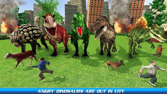 Dinosaur City Simulation - náhled