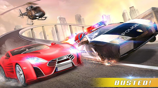 Police Car Chase GT Racing Stunt: Ramp Car Games android2mod screenshots 4