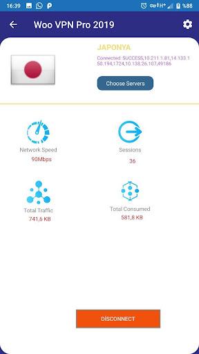 Woo VPN Pro Free 2019 screenshot 3