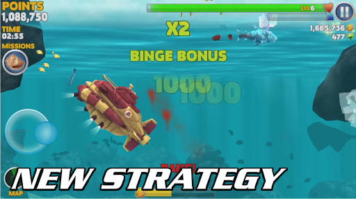 How Play Hungry Shark Evolution 2k18 Guide 1.0 screenshots 2