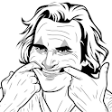 How to Draw Joker Face icon