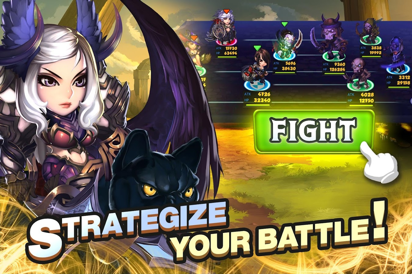 Screenshots of Super Villain War: Lost Heroes for iPhone