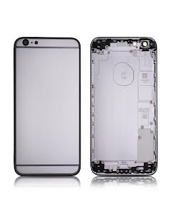 iPhone 6S Plus Back Housing without logo High Quality Black