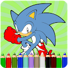 How To Color Sonic Games icon