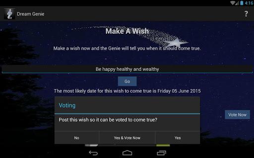Make A Wish Come True Genie by Dream Genie (Google Play