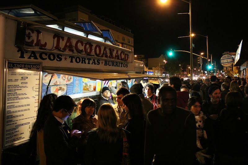 Photo: El Taco Oaxaco taco truck on Telegraph between 23rd and 24th Streets. www.yelp.com/biz/el-taco-oaxaco-oakland