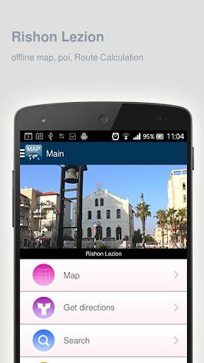 Rishon Lezion Map offline