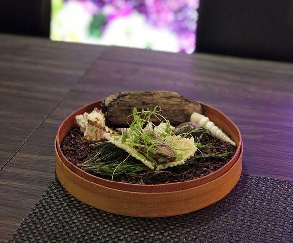 沐 創作 季節料理 MU Seasonal Cuisine 全預約制/無菜單創意料理/好吃的海膽/濃郁的日本牡蠣/多汁的櫻桃鴨胸
