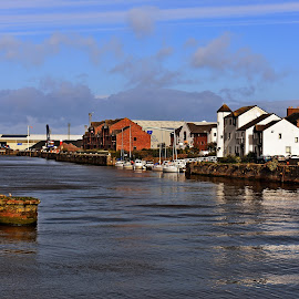 River  Ayr by Gordon Simpson - City,  Street & Park  Vistas