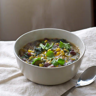 Black Bean and Kale Soup