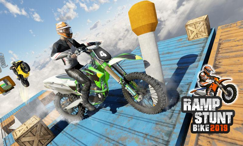 Скриншот Сумасшедший велосипед Stunt Master: Bike Race Ramp