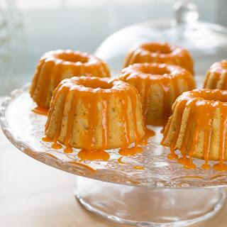 Gluten Free Orange & Vanilla Bundtlettes