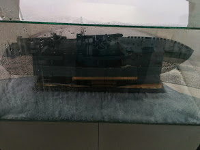 Photo: Replica of the ship of McArhurt when it arrived in CDO.