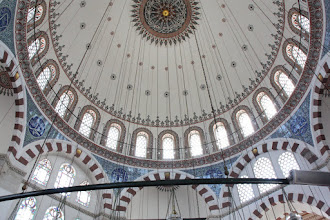 Photo: Day 115 - The Domed Ceiling of The Rustem Pasa Mosque