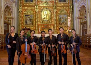 Photo: A Bolivian ensemble who played Vivaldi, Locatelli, and Telleman.....