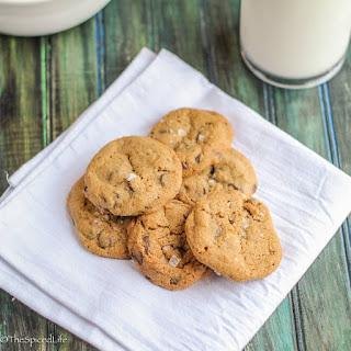 Crispy Bite-Sized Chocolate Chip Cookies
