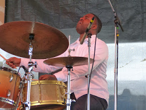 Photo: Kendrick Scott withKurt Rosenwinkel New Quartet