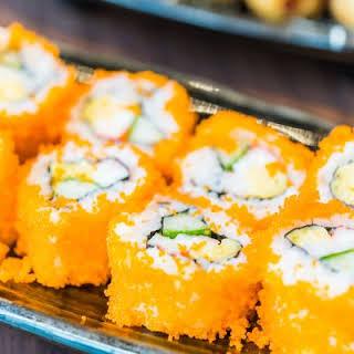 Better Than Any Sushi Restaurant Copycat California Roll.