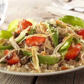 Quinoasalade Met Avocado, Pijnboompitten En Kipfilet