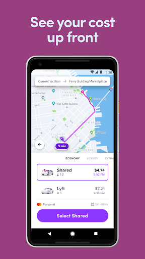 Screenshot for Lyft in United States Play Store