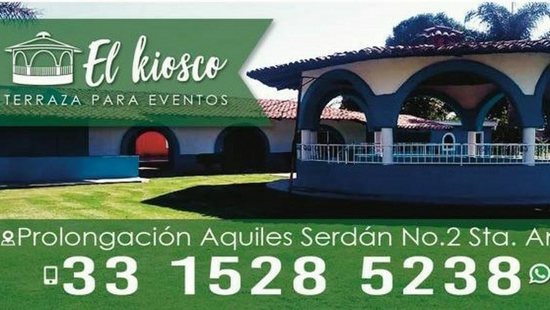 Terraza El Kiosco Santa Anita Salón Para Eventos En