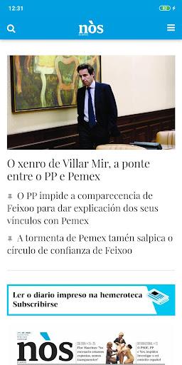 Nòs Diario screenshot 1