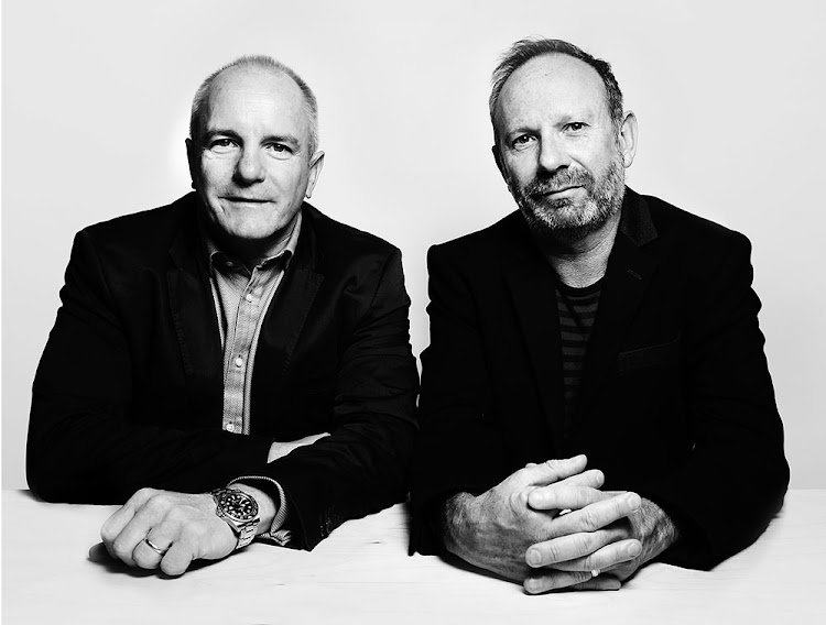 James Barty (left) and Alistair King, co-founders of King James. Picture: SUPPLIED