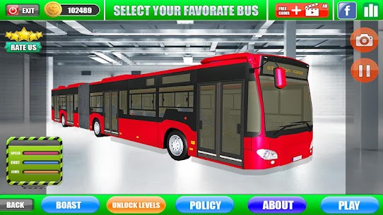 Metro Bus Public Transport : Bus Simulator Offroad 4