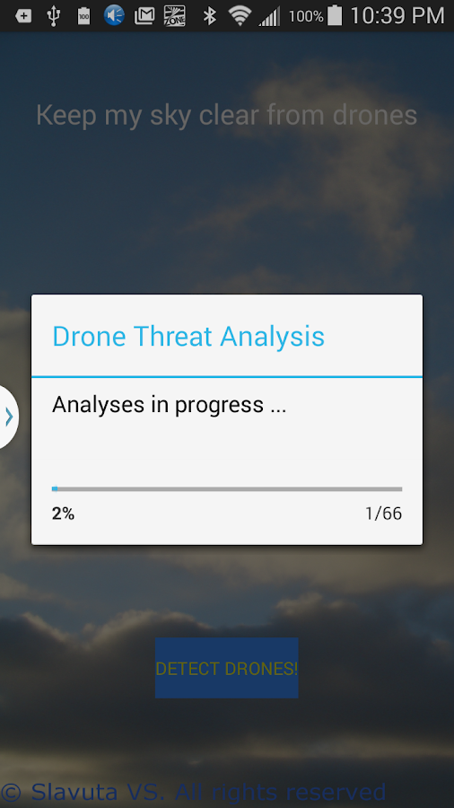 Drone Detector Free- screenshot