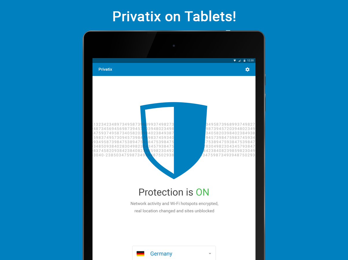 Free VPN by Privatix- screenshot