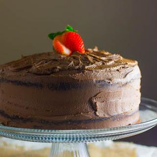 Dark Chocolate Cake Recipe & Divine Chocolate