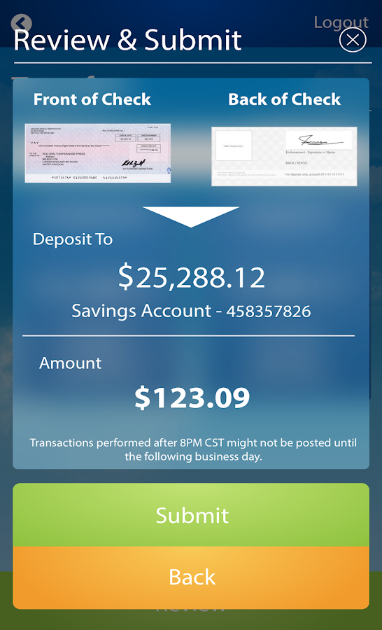 Peach State FCU- screenshot