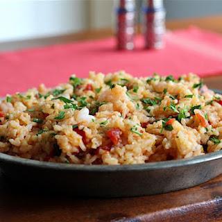 Spanish-Style Shrimp Paella Recipe