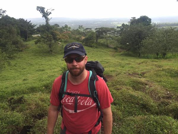 Eric volcano hike