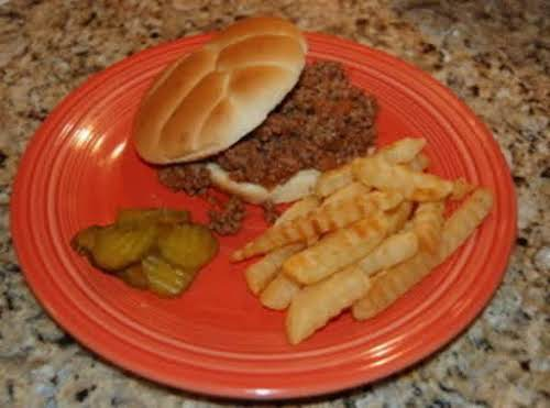 """Sloppy Joes """"This was the tastiest sloppy joes that I have ever..."""