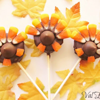 Turkey Tail Oreo Pops